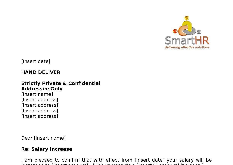 Letter No Salary Increase V2 Smart Hr